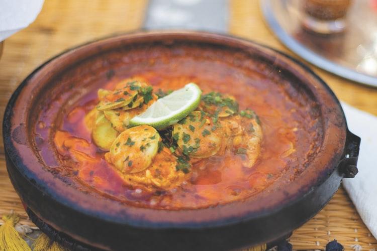 Koi fish curry