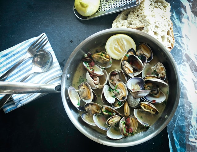Clams curry